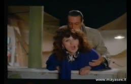 Film italiano erotico con Serena Grandi in stile vintage